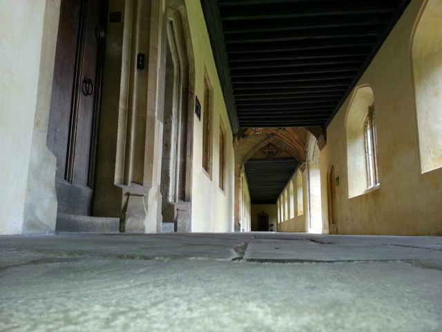 The Cloisters Walkway of Magdalen College